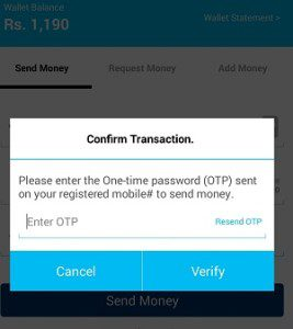 paytm confirmation