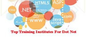 City Wise Best Training Institutes For Dot Net In India