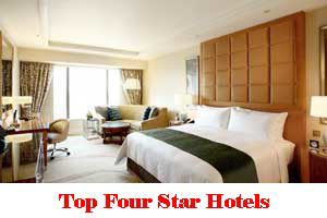 City Wise Best Four Star Hotels In India