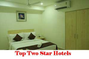 City Wise Best Two Star Hotels In India