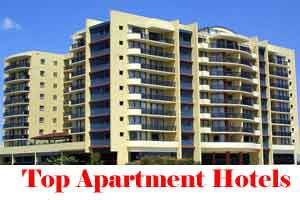 City Wise Best Apartment Hotels In India