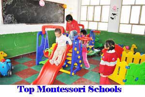 City Wise Best Montessori Schools In India