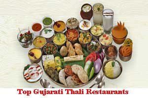 City Wise Best Gujarati Thali Restaurants In India