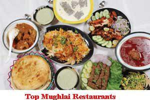 City Wise Best Mughlai Restaurants In India