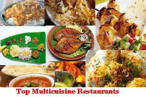City Wise Best Multicuisine Restaurants In India
