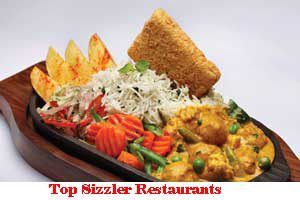 City Wise Best Sizzler Restaurants In India