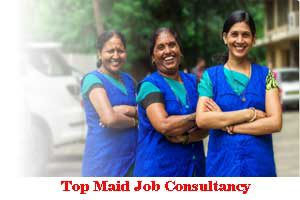 City Wise Best Maid Job Consultancy In India
