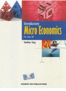 CBSE class 12th micro economics book by Sandeep garg