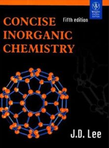 J.D. Jee Inorganic Chemistry For IIT