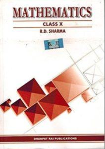 RD Sharma for cbse class 10th
