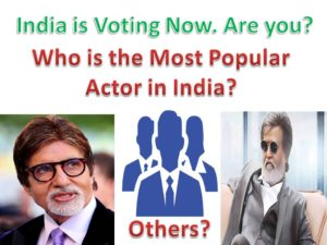 Who is the Most Popular Actor in India