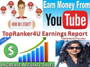 TopRanker4U Earnings Report