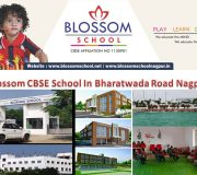 Blossom School One of the Best CBSE School In Bharatwada Road Nagpur
