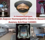 Dr. Kapoor Homeopathic Clinic One of the Best Homeopathic Clinic In Basant Aveneu Amritsar