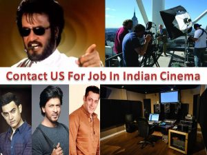 Contact US For Job In Indian Cinema
